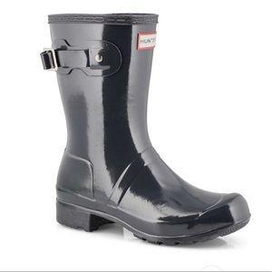 Hunter New Original Tour Short Gloss Boot